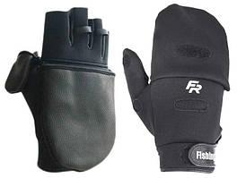 Перчатка спиннингиста Fishing ROI WK-06 black (M301) L