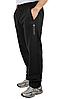 ТЕПЛЫЕ зимние спортивные штаны мужские на флисе Колорадо черные прямые, фото 2