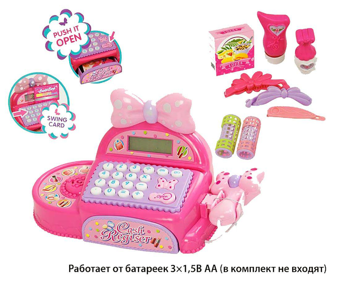 Кассовый аппарат FS-35562 (1452784)(12шт/2) батар,свет,звук,сканер,кал