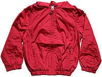 Куртка-ветровка для девочки бордовая, рост 110 см, ТМ Бемби