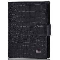 Бумажник водителя Wanlima Мужское кожаное портмоне с бумажником для водителя и обложкой для паспорта WANLIMA (ВАНЛИМА) W620437901671-black