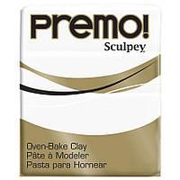 Полимерная глина Premo Sculpey (Премо) 57г, белая, 5001 White, пр-во США