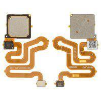 Шлейф для мобильного телефона Huawei P9, для сканера отпечатка пальца (Touch ID), золотистый