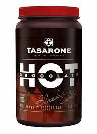 Горячий шоколад Tasarone Black(темный)в банке 1000 г (Италия)