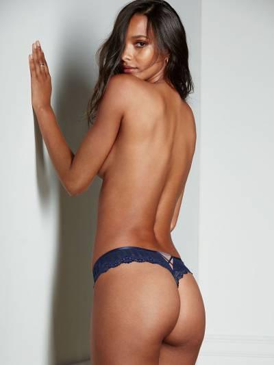 Victoria's Secret Cutout Thong Panty Трусики - стринги