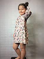 Детское нарядное платье с бантиком