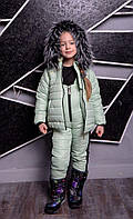 Очень тёплый зимний детский комбинезон  с 2-ух до 13-ти лет