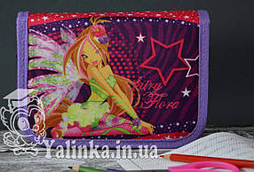 Пенал школьный на два клапана Fairy Flora 930410
