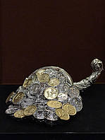 Статуэтка Рог богатства с серебром Италия