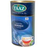 Чай TAAZ Романс черный 100 гр в картонном тубусе