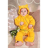Слингокомбинезон для новорожденного из  велюра My baby 68 Модный карапуз (03-00388-10)