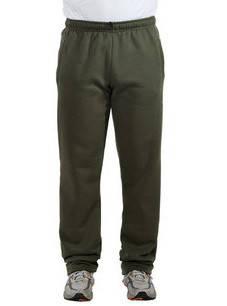 ЗИМНИЕ спортивные штаны мужские утепленные трикотажные оливковые прямые Украина