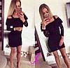 Платье трикотаж,гипюр и дорогое кружево