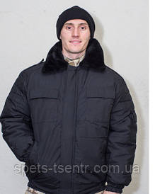 Куртка ( бушлат) зимний охрана Титан (  черный )