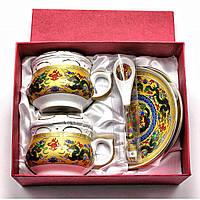 Чайный набор на 2 персоны фарфоровый Дракон