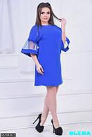 Элегантное платье с рукавами из фатина