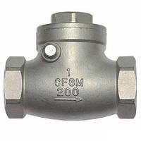 Клапан обратный муфтовый IVR 654 нж (AISI316) поворотный