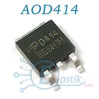 AOD414, Mosfet транзистор N канал, 30В 85А, TO252