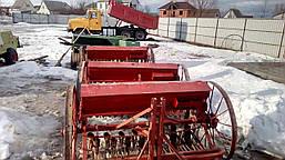 Сеялка зерновая на минитрактор 1,5 м б/у Польша, фото 2