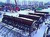 Сеялка зерновая для минитрактора 2,2 м б/у Польша, фото 3