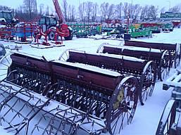 Сеялка зерновая 2,2 м с бороной б/у Польша, фото 2