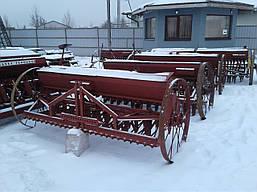 Сівалка зернова 2,2 м з бороною б/у Польша, фото 3