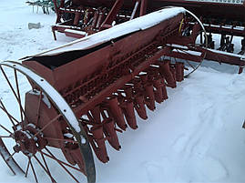 Сеялка зерновая 2,2 м с бороной б/у Польша, фото 3