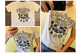 """Мужская футболка  """" Diesel """""""