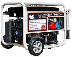 Бензиновые генераторы NIK PG5500