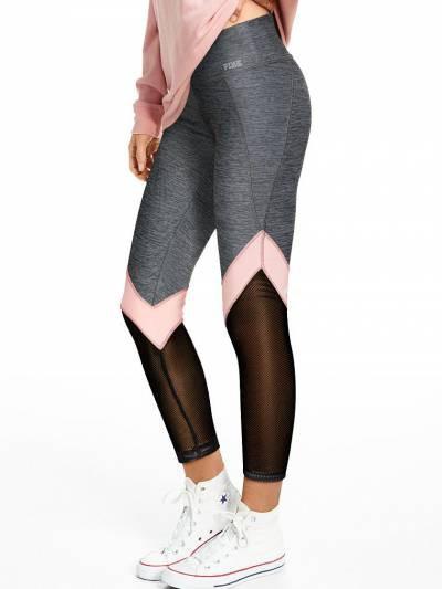 Victoria's Secret PINK Леггинсы Ultimate Moto Ankle Leggins S