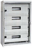 Шкаф ударопрочный из АБС-пластика e.plbox.300.400.165.24m.tr, 300х400х165мм, IP65 с прозрачной дверцей и панел