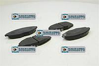 Колодка передняя Ланос, Сенс, Матиз 13 SHIN KUM к-т Chevrolet Lanos (96273708)
