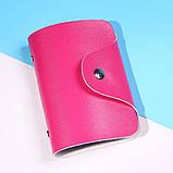 Кошелёк для кредитных карт кардхолдер для карточек визитница цвета, фото 6