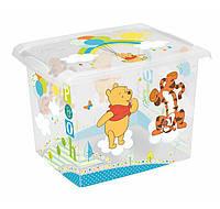 Ящик для игрушек Winni the Pooh 20.5 литра Keeeper, фото 1