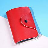 Кошелёк для кредитных карт кардхолдер для карточек визитница цвета, фото 9