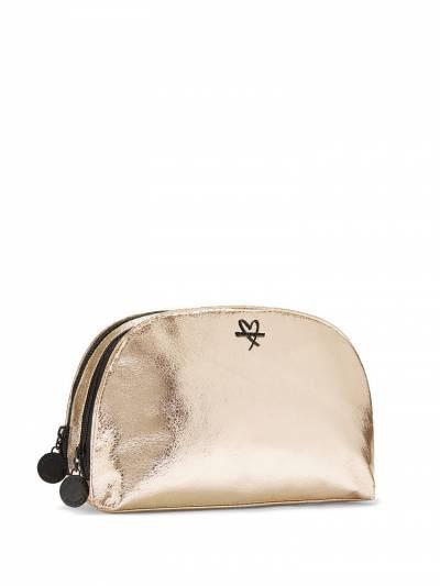 Victoria's Secret Metallic Crackle Glam Bag - Косметичка