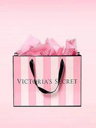 Victoria's Secret Подарочный бумажный пакет (большой)