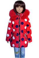 Зимняя куртка на маленькую девочку