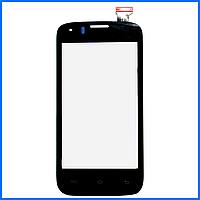 Тачскрин (сенсор) для Prestigio PAP4055 DUO MultiPhone, черный