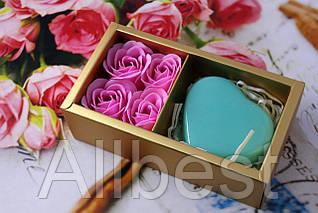 Подарочное мыло ручной работы // Best Wishes For you 4+1