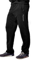 Спортивные штаны мужские трикотажные Колорадо черные прямые Украина
