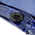 Надувной матрас Intex 68765 с двумя подушками и насосом (203*152*22 см) Сииний, фото 7