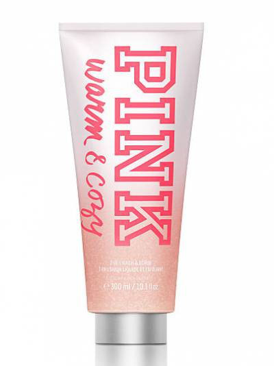 Victoria's Secret PINK 2-in-1 Wash Warm & Cozy Гель-скраб