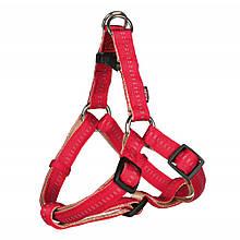 Шлея М 50-65 см Softline Elegance One Touch красная Trixie для собак