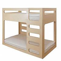 Кровать двухъярусная Cubed Белый IndigoWood (34401)
