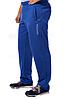 Спортивные брюки с логотипом Колорадомужские трикотажные электрик синие прямые