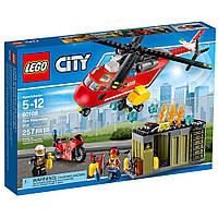 Конструктор City Пожарная команда быстрого  реагирования LEGO (60108)