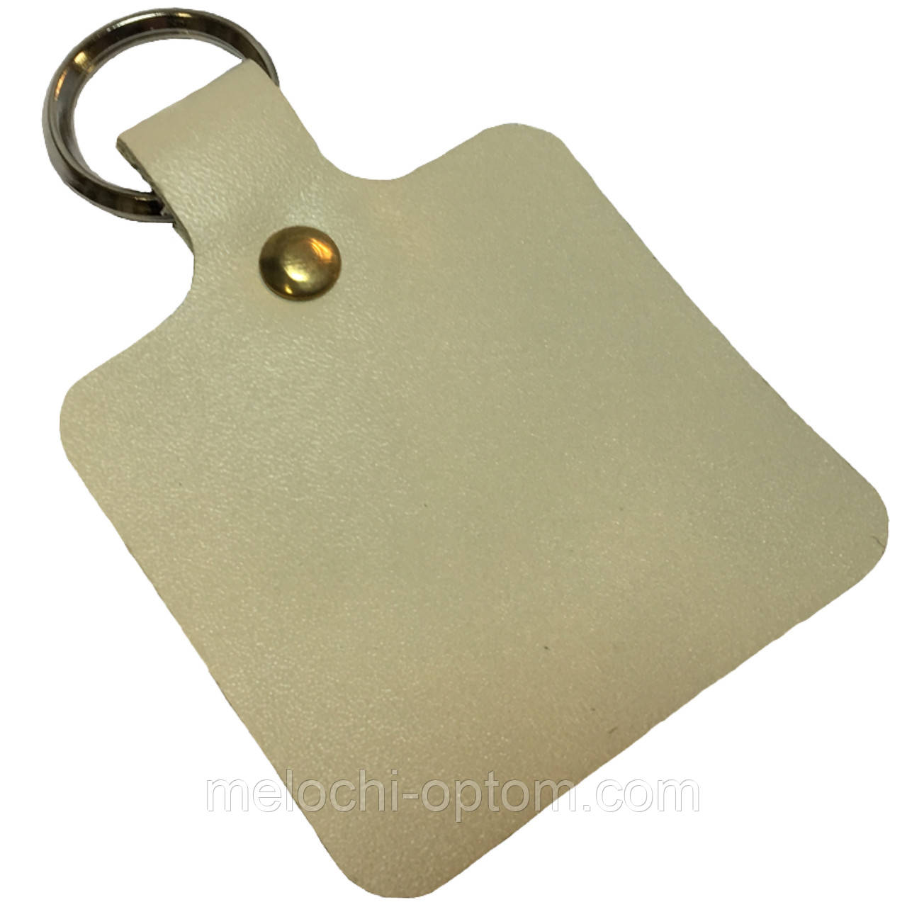 Брелки кожаные CREZ c кольцом для ключей