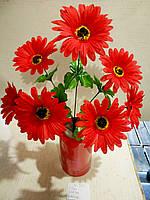 Искусственные цветы хризантема 7 бутонов 52см высота