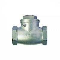 Клапан обратный муфтовый поворотный нж (AISI316)
